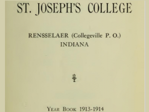 Saint Josephs College Catalog (pre-Phase) Yearbooks