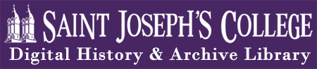 Saint Joseph's College Archives Retina Logo